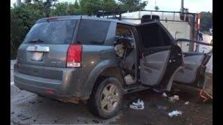 Accidente de tránsito en San Antonio La Paz, El Progreso