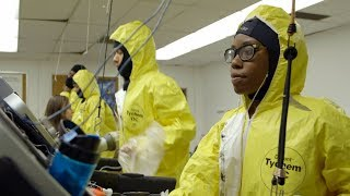 Stanford researchers design solutions for hot hazmat suits