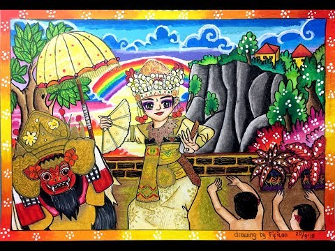 Search Result Cara Mewarnai Gradasi Crayon Pakaian Adat Bali Tomclip