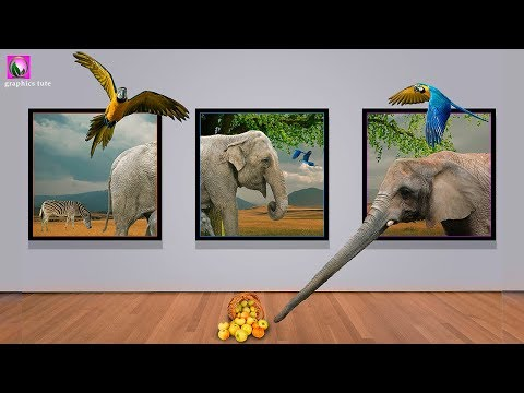 3D Picture Frame ( 3D Out Of Frame) Photo Manipulation In Photoshop - Photoshop Tutorial