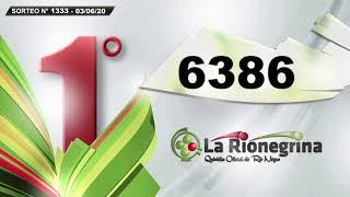 RESUMEN La Matutina - Sorteo N° 1333 / 03-06-2020 - La Rionegrina en VIVO