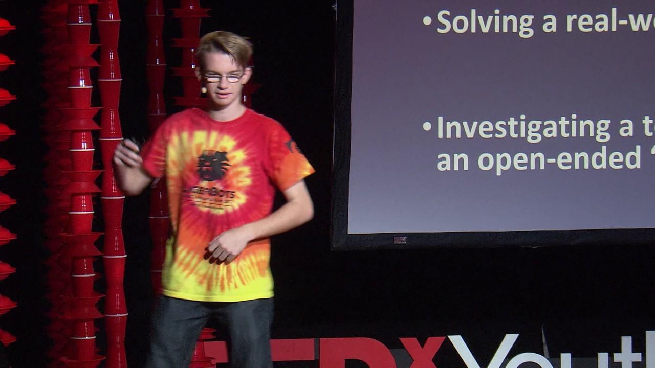 I Love To Build Robots | Cameron Mastoras | TEDxYouth@BeaconStreet