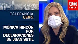 """Mónica Rincón por polémicas declaraciones de Juan Sutil: """"No sólo es cruel, sino que no es verdad"""""""