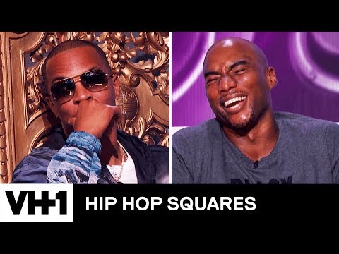 T.I. vs. Charlamagne: The King or Tha God?   Hip Hop Squares