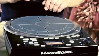 "Roland HandSonic HPD-20 ""World tour"""