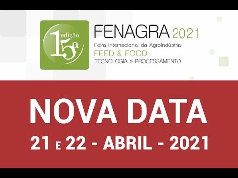 FENAGRA 2021 - Dias 21 e 22 de Abril de 2021