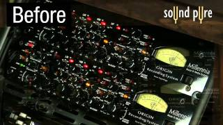 Mastering with a Pair of Millennia STT-1 Origin Channel Strips - Demo Video