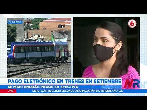 Pago electrónico en trenes será a partir de setiembre