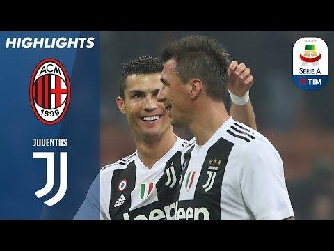 أهداف مباراة اسي ميلان وجوفنتوس 0-2 ( البطولة الايطالية )
