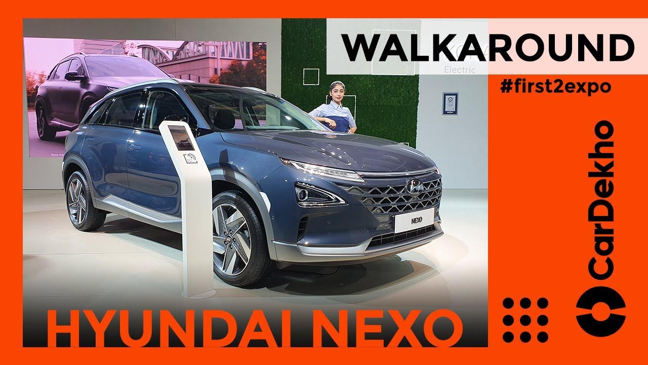Hyundai Nexo Hydrogen Fuel Cell SUV India Walkaround At Auto Expo 2020