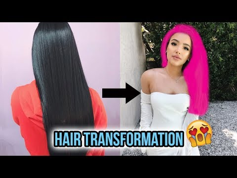 connectYoutube - MY HAIR TRANSFORMATION   Jet Black to?? Did I ruin my hair?!