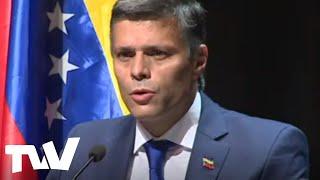 Leopoldo López: Me voy a dedicar a promover las elecciones libres en Venezuela