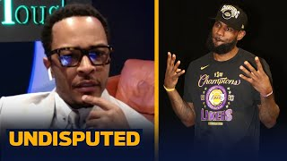 T.I. compares LeBron to Jay-Z, talks his Atlanta Falcons and new album | UNDISPUTED
