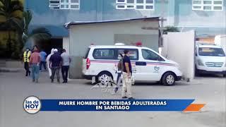Otra persona muere en Santiago por la ingesta de bebidas adulteradas