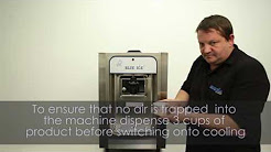 Blue Ice Cream Machines model T15 Training/Operating instructions