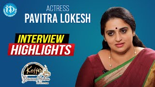 Actress Pavitra Lokesh Exclusive Interview Highlights | Koffee With Yamuna Kishore | iDream Movies - IDREAMMOVIES