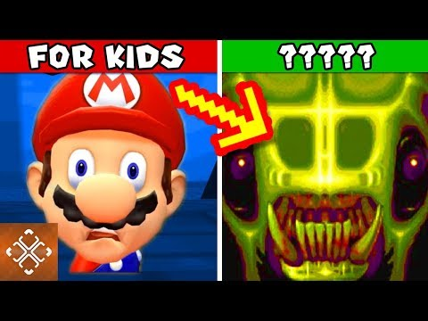 connectYoutube - 10 KIDS GAMES CHARACTERS THAT ARE PURE NIGHTMARE FUEL