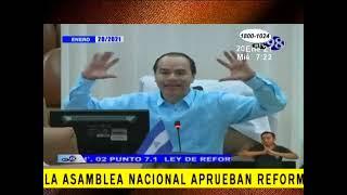Diputados de la Asamblea Nacional aprueban reformas al código penal y a la ley 779