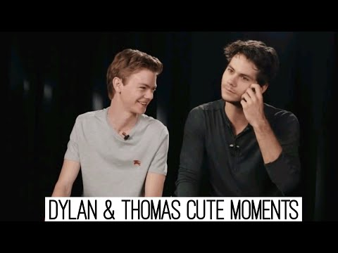 connectYoutube - Dylan O'Brien & Thomas Sangster | Funny Moments