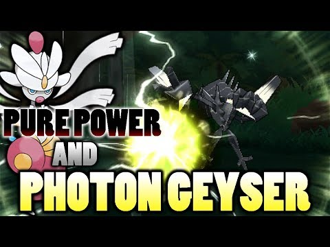connectYoutube - Is Pure Power Necrozma's Photon Geyser A Physical Or Special Attack In Pokemon Ultra Sun and Moon?