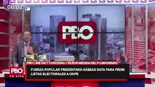 JNE, FAKE NEWS Y NUEVA MEDIDA DEL FUJIMORISMO: Fuerza Popular padrón de electores a ONPE