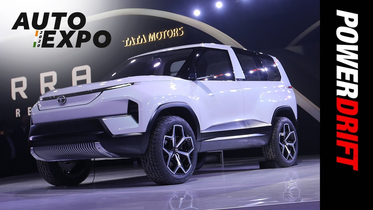 Tata Sierra Concept | Nostalgia much? | 2020 Auto Expo | PowerDrift