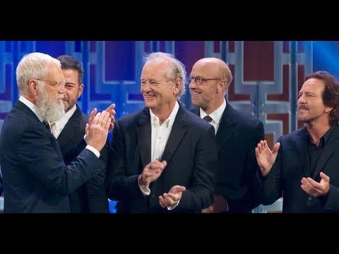 connectYoutube - Best of Letterman's Mark Twain Prize (Norm, Bill Murray, Dave, Eddie Vedder)