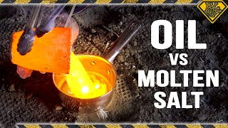Molten Salt vs Oil