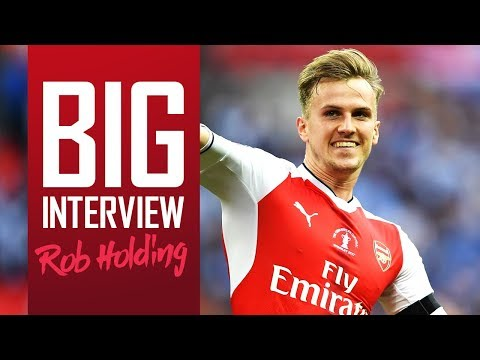 FROM RELEGATION TO FA CUP SUCCESS  | Rob Holding Close Up