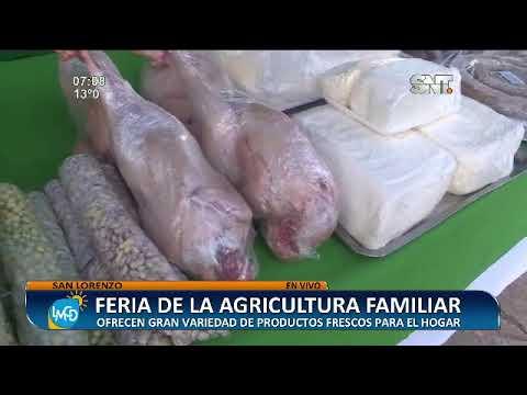 Arrancó la Feria de la Agricultura Familiar