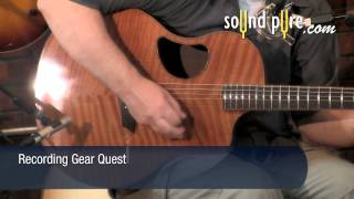 McPherson 4.5XPH Flamed Redwood/Brazilian Rosewood Guitar Demo