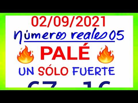 NÚMEROS PARA HOY 02/09/21 DE SEPTIEMBRE PARA TODAS LAS LOTERÍAS....!! Números reales 05 para hoy...!