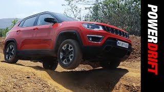 Jeep Compass Trailhawk : How far should a premium SUV go off road? : PowerDrift