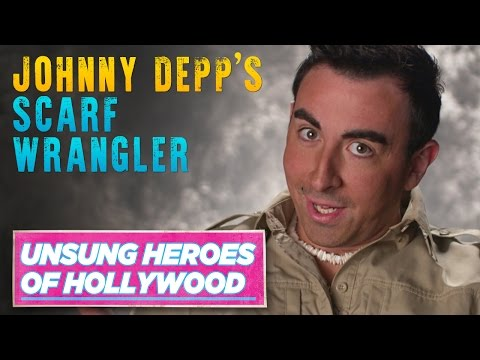 Johnny Depp's Scarf Wrangler | Unsung Heroes of Hollywood