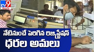 నేటి నుంచి LRS దరఖాస్తుల పరిష్కారం : Telanana - TV9 - TV9