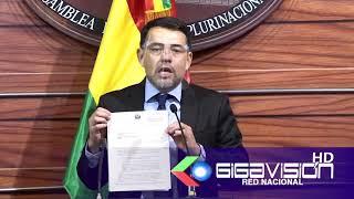 SENADOR MORON PIDE DECLARAR ALERTA POR FEMINICIDOS l senador Erick Moron pide que se