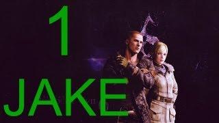 Resident Evil 6 walkthrough - part 1 HD Jake walkthrough gameplay full game J + Sherry Walkthrough