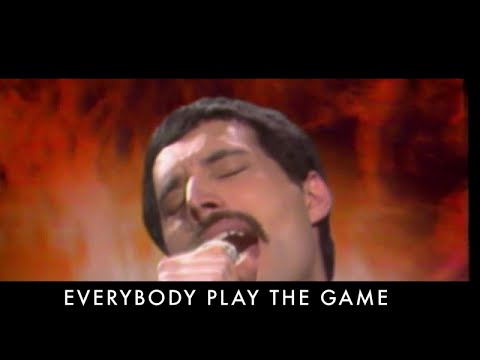 connectYoutube - Queen - Play The Game (Official Lyric Video)