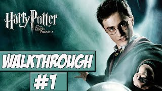 Harry Potter And The Order Of The Phoenix - Walkthrough Ep.1 w/Angel - 5th Year At Hogwarts!