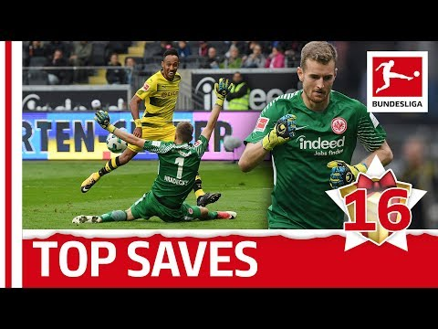 Lukas Hradecky - Top 5 Saves - Bundesliga 2017 Advent Calendar 16