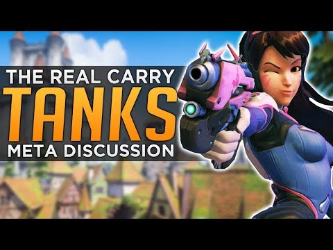connectYoutube - Overwatch: Tanks Carry Games, Not DPS! - Meta Discussion