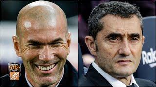 Zinedine Zidane vs Ernesto Valverde: ¿cuál técnico llega con mejor panorama al 2020? | Futbol Center