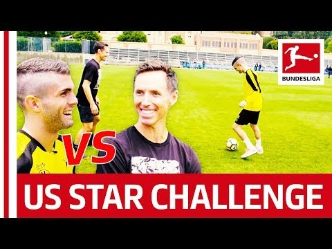Christian Pulisic vs. Steve Nash - The Football-Basketball Challenge