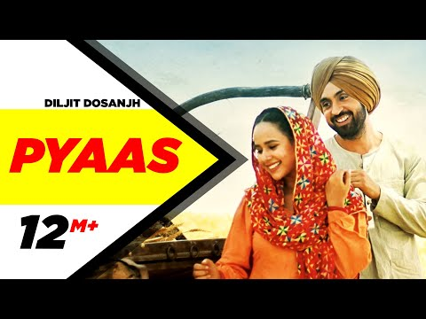 Pyaas-DILJIT DOSANJH Full HD Video Song With Lyrics