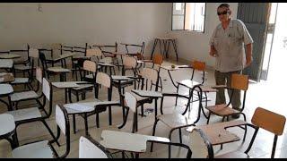 Piura: Asaltan a alumnos durante clase y agreden a profesor