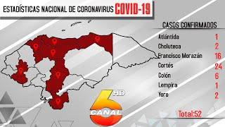 Hoy 16 nuevos casos de Coronavirus (Covid-19) siendo en total 52 casos confirmados