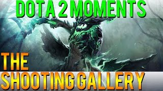 Dota 2 Moments - The Shooting Gallery