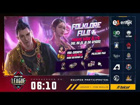 Free Fire League Latinoamérica por América