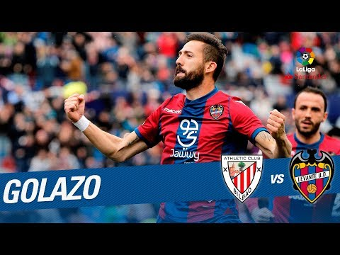 Golazo de Morales (1-3) Athletic Club vs Levante UD