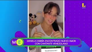 Daniela Darcourt habría encontrado el amor en un cantante venezolano